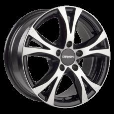 CARMANI 09 Compete black polish 6.5x15 5x108 ET45