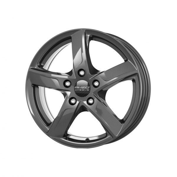 ANZIO SPRINT dark-grey 6.5x16 5x114.3 ET38