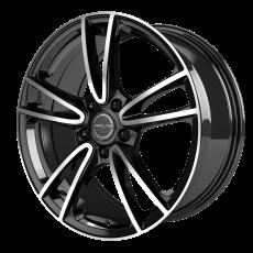 PROLINE CX300 Black Polished 6.5x15 5x114.3 ET43