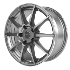 PROLINE UX100 Grey Rim Polished 7x17 4x108 ET38